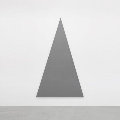 Alan Charlton, 'Triangle Painting', 2014