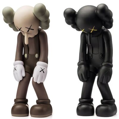 KAWS, 'KAWS SMALL LIE set of 2 works (KAWS Companion)', 2017