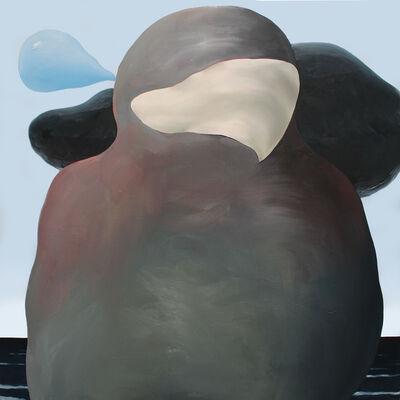 Jordan Kasey, 'Person as a Rock by the Ocean', 2014