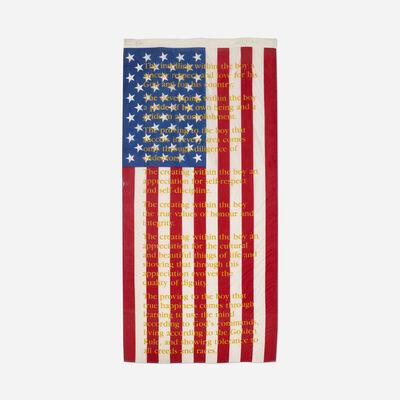 Attila Richard Lukacs, 'American Flag', 1990