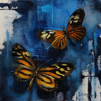 Lindsey Kustusch, 'Xanthocles Long Wing and the Tiger Butterfly'