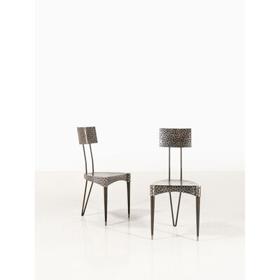 André Dubreuil, 'Grousset - Limited Edition, Pair of chairs', 1999