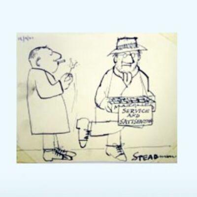 Ralph Steadman, 'Service and Satisfaction'