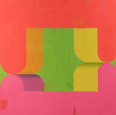 Deborah Zlotsky, 'Couple Pink and Orange', 2021