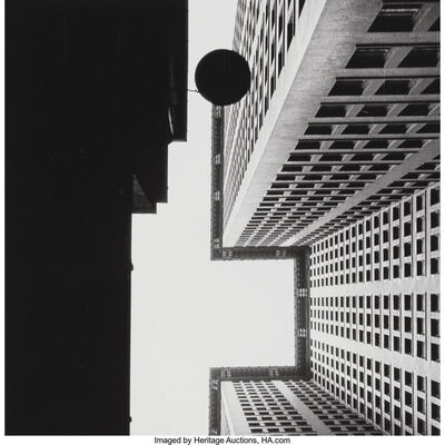 Beaumont Newhall, 'Chase National Bank, New York', 1928