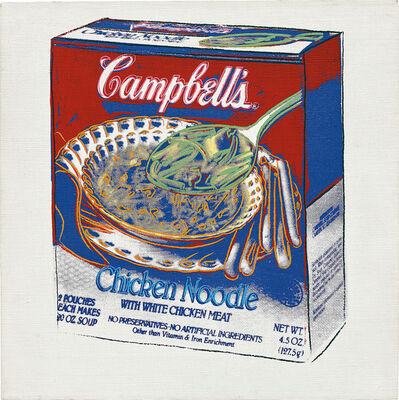Andy Warhol, 'Campbell's Chicken Noodle Soup Box', 1986