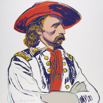 Andy Warhol, 'General Custer II.379', 1986