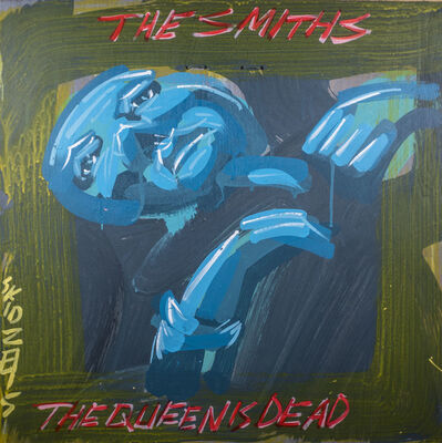Steve Keene, 'The Smiths - The Queen Is Dead', 2015