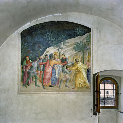 Robert Polidori, 'The Capture of Christ by Fra Angelico, Cell 33, Museum of San Marco Convent, Florence, Italy', 2010