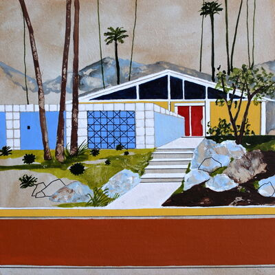 Charlotte Keates, 'Indigo Street', 2017