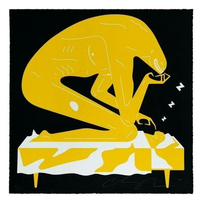 Cleon Peterson, 'The Nightmare- Black', 2021