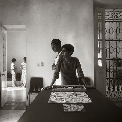 Carrie Mae Weems, 'Wilfredo, Laura, and Me', 2002