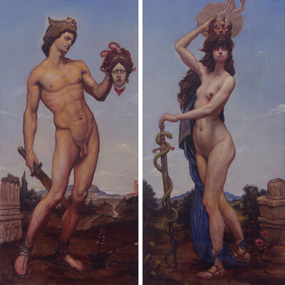 Adam Miller, 'Perseus and Salome', 2021