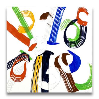 Ellen Priest, 'Jazz Cubano 46: Percussion Drawing', 2012