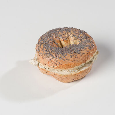 David Gilhooly, 'Bagel with Cream Cheese', 1980