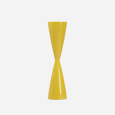 De Wain Valentine, 'Double Cone Yellow', c. 1966