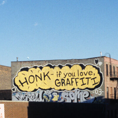 Leon Reid lV, 'Honk if You Love Graffiti'