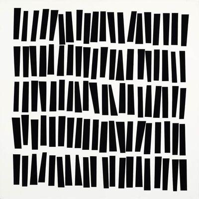 Vera Molnar, '100 trapèzes', 1976