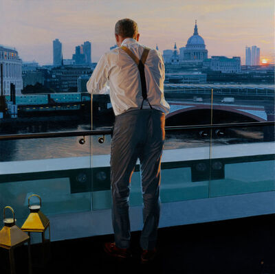 Iain Faulkner, 'Sunrise Blackfriars Bridge', 2018
