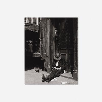 Erika Stone, 'Homeless Man in Doorway', c. 1945