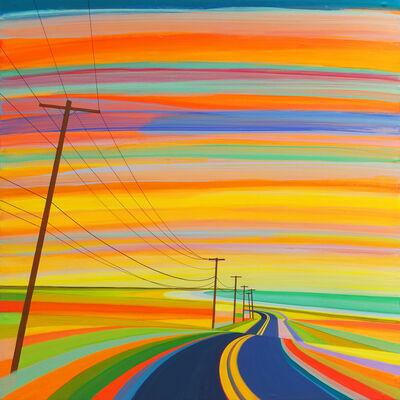 Grant Haffner, 'Sunset on Old Montauk Highway', 2018