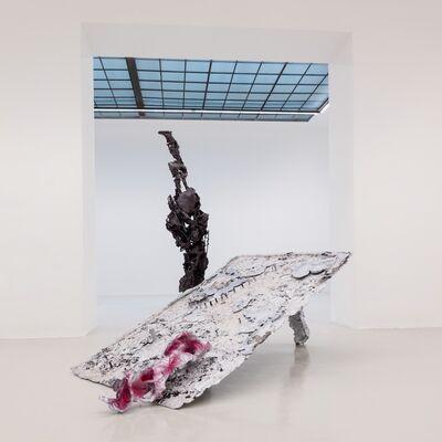 """Karl Karner """"Spiel gerade Höllentor"""", installation view"""