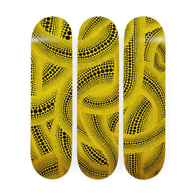 Yayoi Kusama, 'Yellow Trees Skateboard Decks', ca. 2018