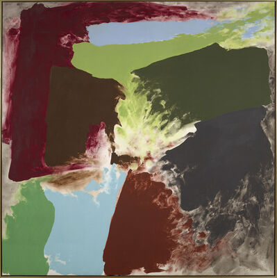 Friedel Dzubas (1915-1994), 'Lucasta', 1978