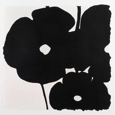 Donald Sultan, 'White and Black, Nov 6, 2015', 2015