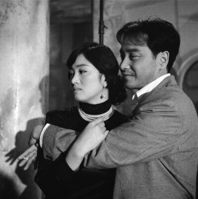 Patrick Zachmann, 'On the set of the film the Temptress Moon, Gong Li & Leslie Cheung', 1995