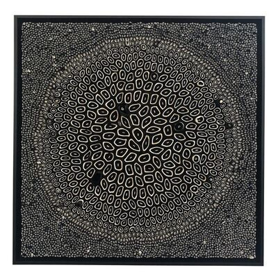 Amy Genser, 'Black and White Squares #11', 2018