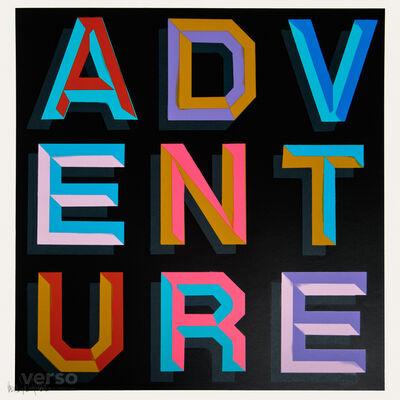 Ben Eine, 'Adventure', 2013