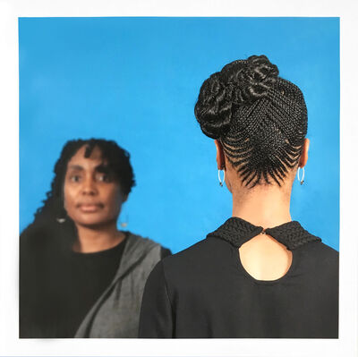 Sonya Clark, 'Hair Craft Project with Dionne', 2014