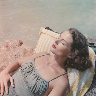 Slim Aarons, 'Dee Hartford', 1957