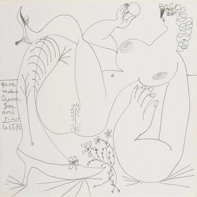 Pablo Picasso, 'Femme nue aux souliers', 1er mai 1971