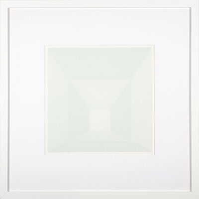 Josef Albers, 'Mitered Square Frost', 1976
