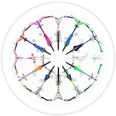Lyle Owerko, 'Circle 01 (Color Wheel)', 2018