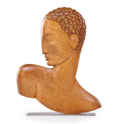 Atelier Hagenauer Wien, 'African bust, Austria', after 1927