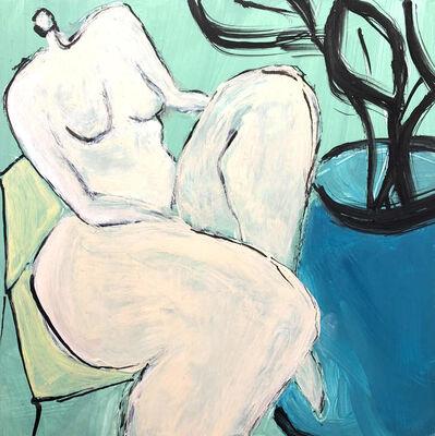 Laura Dargan, 'Lady with Plant II', 2019