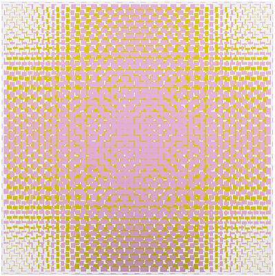 Matti Kujasalo, 'pink-green', 2018