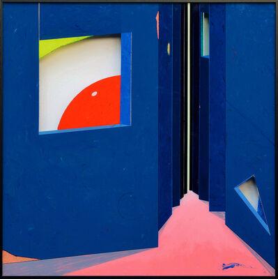 Peiqi Wang, 'Folded dimension', 2016