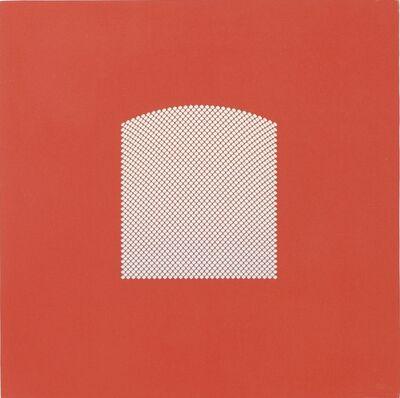 Tess Jaray RA, 'Red Window Link', 2008