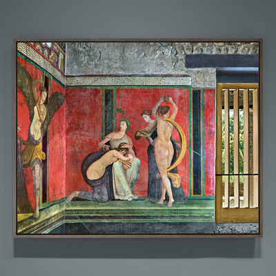 Robert Polidori, 'Villa dei Misteri, Detail #1', 2017