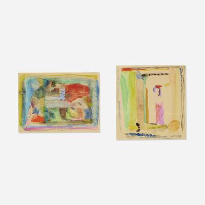 Robert Natkin, 'Untitled (two works)', 1963