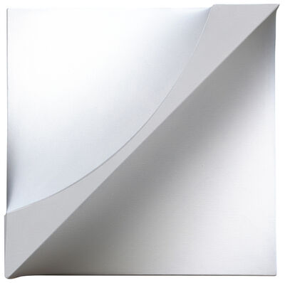 Michael Michaeledes, 'White raised canvas', 1969