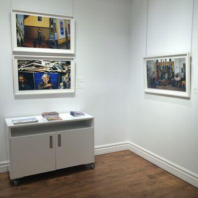 Mark Lang, installation view