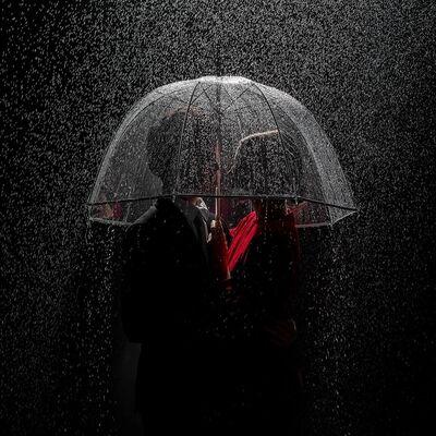 Tyler Shields, 'Under the Rain', ca. 2018