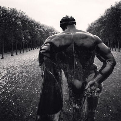 Michael Kenna, 'Hercules, Vaux-le-Vicomte, France', 1998