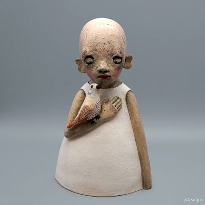 Nathalie Gauglin, 'N° 457 Rêveuse à la tourterelle', 2021