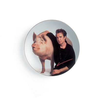 Jeff Koons, 'Signature Plate (for Parkett 80)', 2007